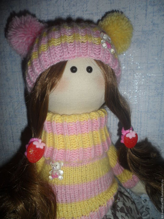 Коллекционные куклы ручной работы. Ярмарка Мастеров - ручная работа. Купить Варенька. Handmade. Кукла, большеножка, кукла своими руками