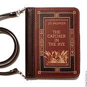 "Сумки и аксессуары handmade. Livemaster - original item Copy of Copy of Clutch book ""In the land where poppies bloom"". Handmade."