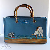 Сумки и аксессуары handmade. Livemaster - original item Painted bags.
