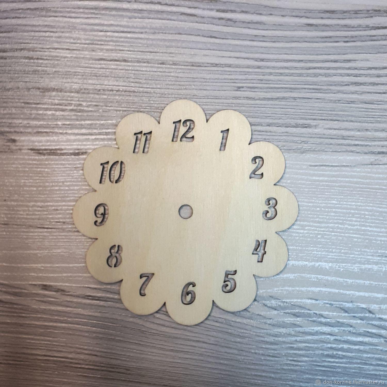 Заготовка для бизиборда. Часы цветок, Бизиборды, Казань,  Фото №1