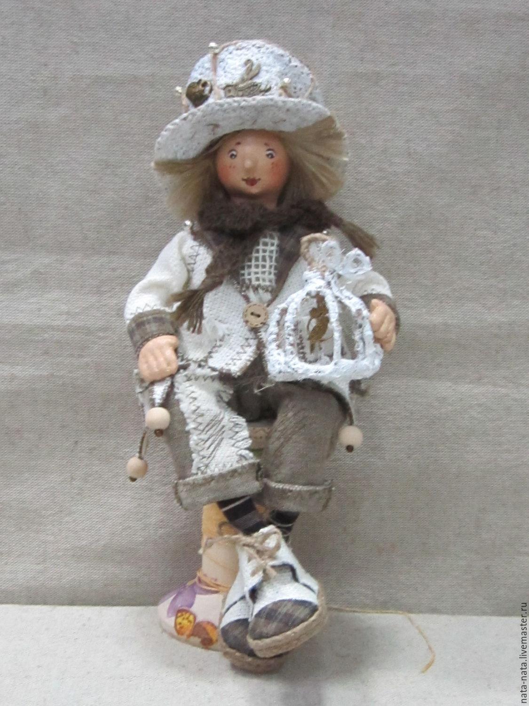 Textile doll 'Dwarf', Dolls, Chrysostom,  Фото №1