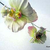 """Цветы и флористика ручной работы. Ярмарка Мастеров - ручная работа Орхидея """"Рокси"""". Handmade."""