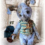 Куклы и игрушки ручной работы. Ярмарка Мастеров - ручная работа Зайка Блуи. Handmade.