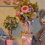 Цветы и флористика ручной работы. Ярмарка Мастеров - ручная работа Все в розовых тонах. Handmade.