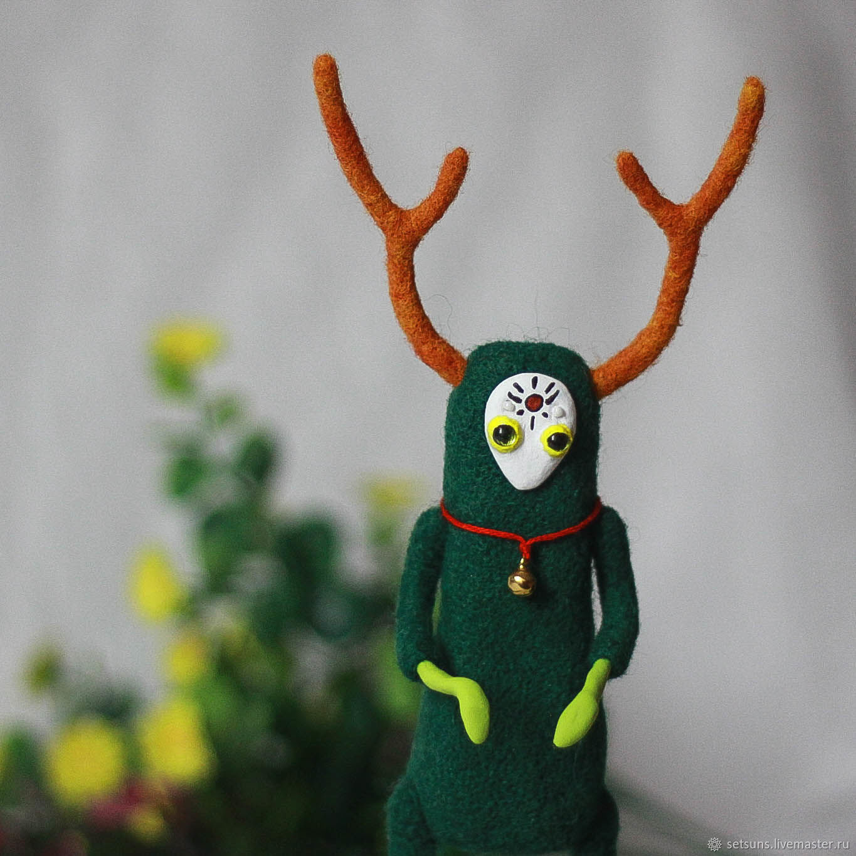 Войлочная игрушка: Крокус. Валяная кукла, Куклы и пупсы, Екатеринбург,  Фото №1