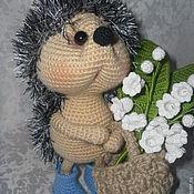 Куклы и игрушки handmade. Livemaster - original item The may Hedgehog (Lily of the valley). Handmade.