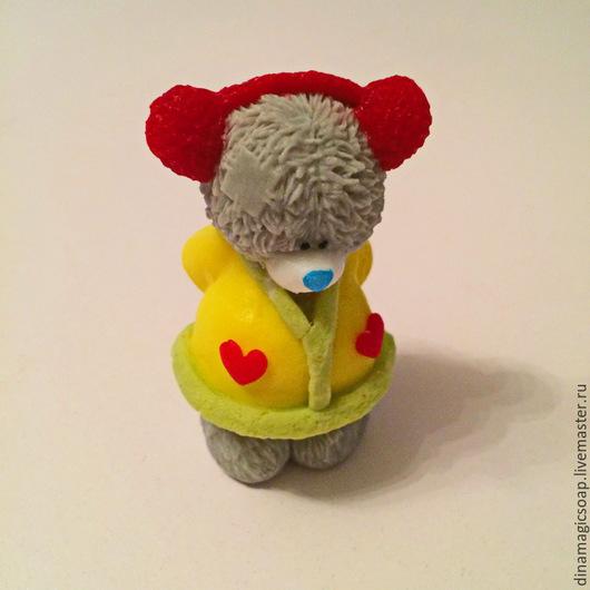 Мыло ручной работы. Ярмарка Мастеров - ручная работа. Купить мыло Мишка девочка. Handmade. Разноцветный, мыло в новокузнецке