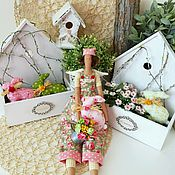Куклы и игрушки ручной работы. Ярмарка Мастеров - ручная работа Изабель - помощница райского сада. Handmade.