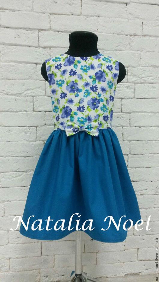 Одежда для девочек, ручной работы. Ярмарка Мастеров - ручная работа. Купить Цветочное платье для девочки. Handmade. Летнее платье