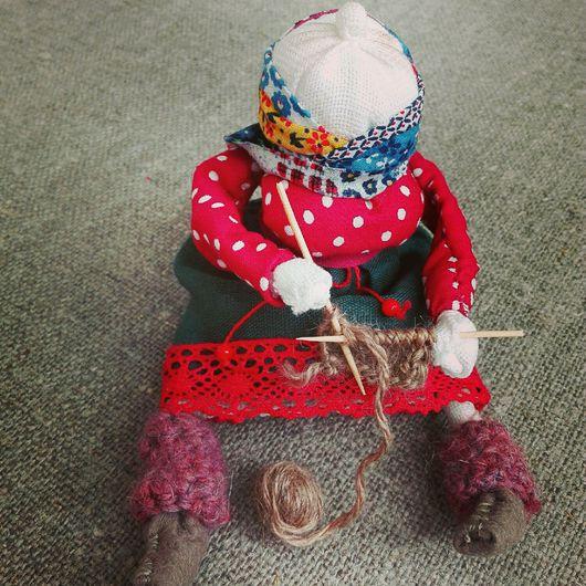 Народные куклы ручной работы. Ярмарка Мастеров - ручная работа. Купить Вятская подарочная Бабка. Handmade. Народная кукла, бабка