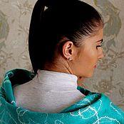 Одежда ручной работы. Ярмарка Мастеров - ручная работа Валяная безрукавка в бирюзовых тонах.. Handmade.