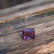 Украшения handmade. Livemaster - original item Spinel Purple Octagon. Handmade.