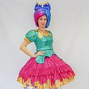Одежда handmade. Livemaster - original item Doll Paint-Blot. Scenic suit/Cosplay/Carnival costume. Handmade.