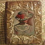 """Шкатулки ручной работы. Ярмарка Мастеров - ручная работа Шкатулка-книга""""Незнакомка"""". Handmade."""