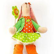 """Куклы и игрушки ручной работы. Ярмарка Мастеров - ручная работа Зайка из флиса """"Карамелька"""". Handmade."""