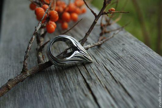 Кольца ручной работы. Ярмарка Мастеров - ручная работа. Купить Кольцо ЛУК серебро 925 пробы. Handmade. Серебряный