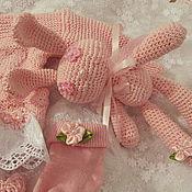 """Работы для детей, ручной работы. Ярмарка Мастеров - ручная работа Комплект для Принцессы """"Soft & Pink"""". Handmade."""