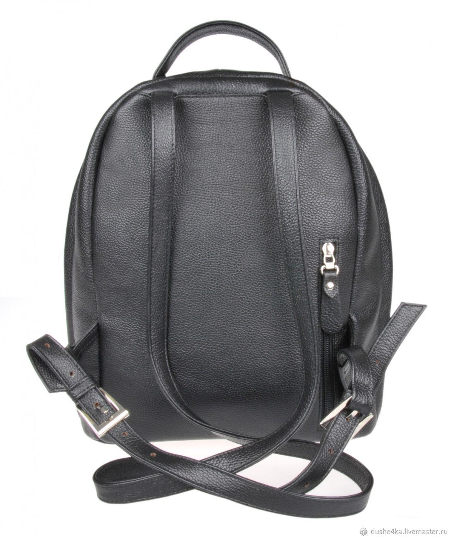 11c599cdc1aa Рюкзаки ручной работы. Рюкзак женский кожаный из кожи с рисунком ручной  работы Белый кролик.
