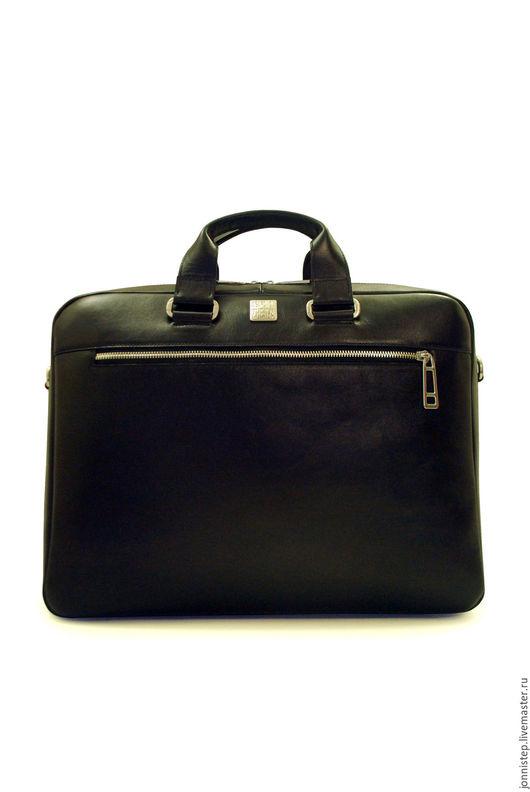Мужские сумки ручной работы. Ярмарка Мастеров - ручная работа. Купить Повседневная сумка Bolivar black. Handmade. Черный