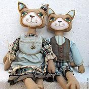 Куклы и игрушки ручной работы. Ярмарка Мастеров - ручная работа Коты Чердачные. Handmade.