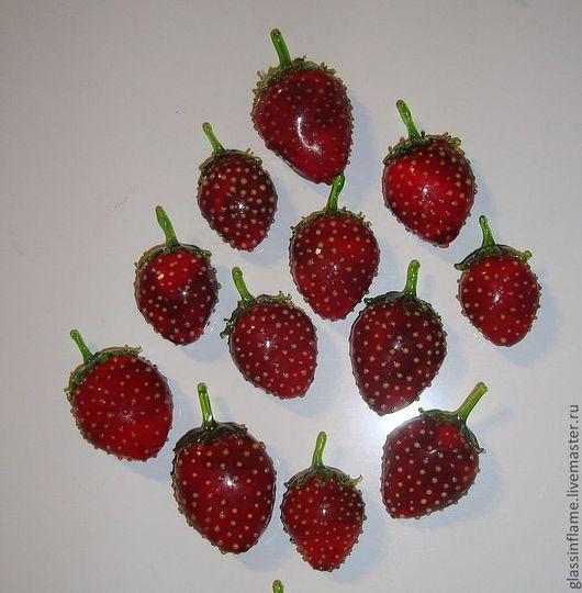 Магниты ручной работы. Ярмарка Мастеров - ручная работа. Купить Коллекция ягодных магнитов. Handmade. Ярко-красный