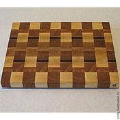Для дома и интерьера ручной работы. Ярмарка Мастеров - ручная работа Торцевая разделочная доска 30х40х3. Handmade.