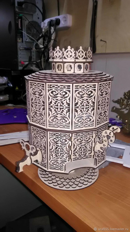 Самовар - ваза для чаепития, Народные сувениры, Челябинск, Фото №1
