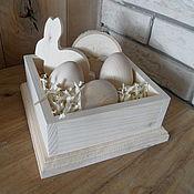 Короб ручной работы. Ярмарка Мастеров - ручная работа Короб для яиц. Пасха.. Handmade.