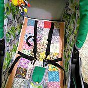 Работы для детей, ручной работы. Ярмарка Мастеров - ручная работа матрасик в коляску, в лоскутной технике!. Handmade.