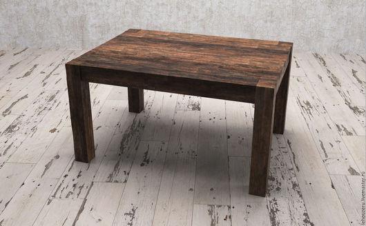 Мебель ручной работы. Ярмарка Мастеров - ручная работа. Купить Деревянный стол из массива дерева Андерматт Малый (Andermatt Little). Handmade.