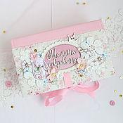 """Подарки к праздникам ручной работы. Ярмарка Мастеров - ручная работа Мамины сокровища """"Розовый заяц"""". Handmade."""