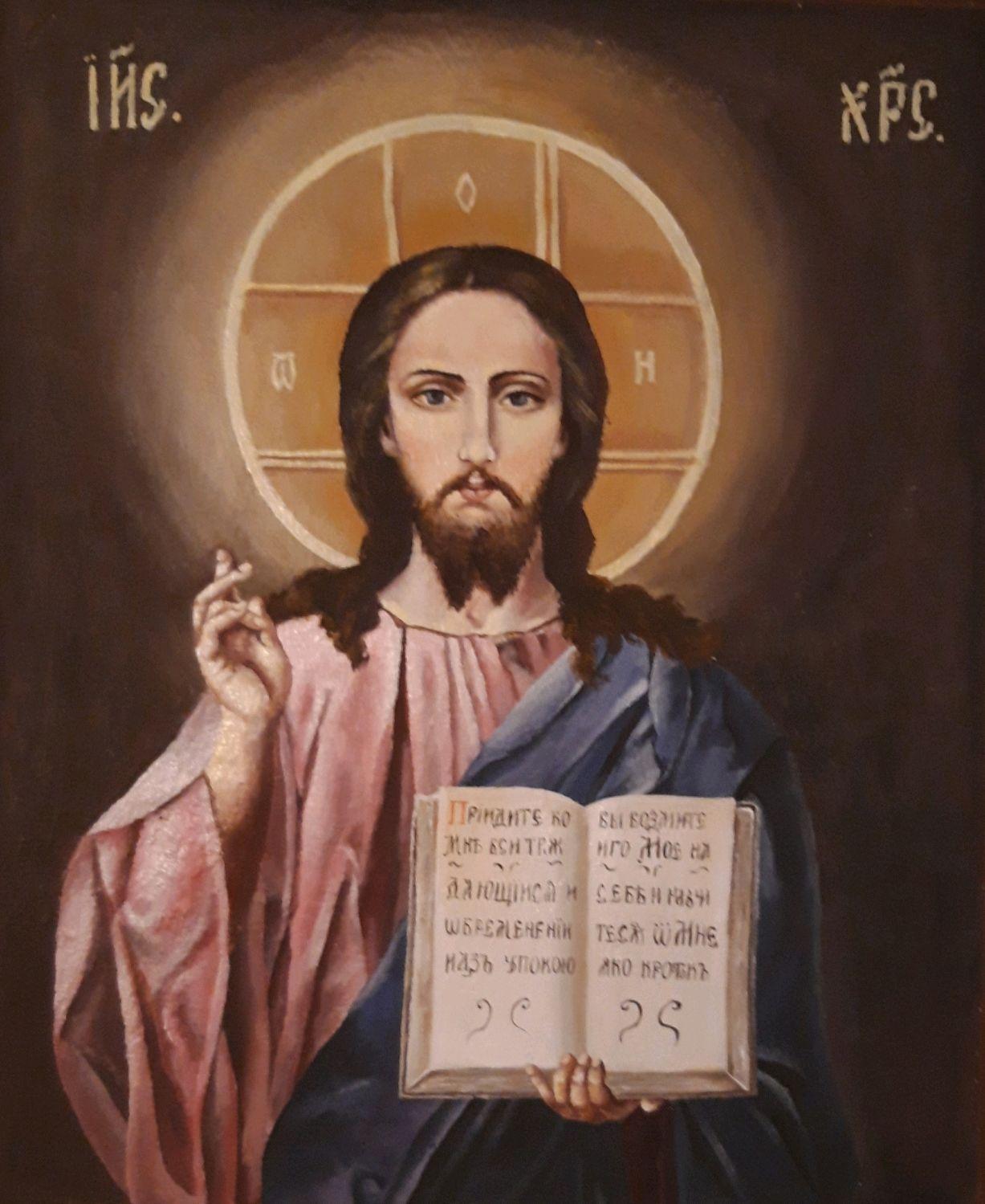 """Икона """"Иисус Христос"""" иконы с иисусом христом. масло, Иконы, Анапа,  Фото №1"""