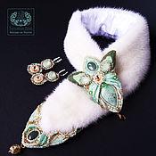 Украшения handmade. Livemaster - original item Boa and earrings