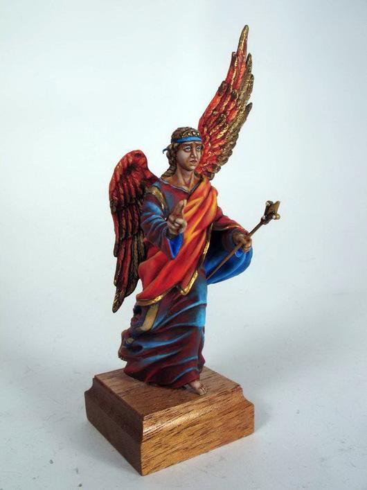 """Подарки на Пасху ручной работы. Ярмарка Мастеров - ручная работа. Купить Ангел """"Благовещение"""". Handmade. Ангел-хранитель, скульптура, Беременность"""