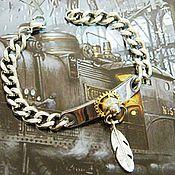 Украшения handmade. Livemaster - original item Bracelet steampunk stainless steel