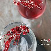 Украшения handmade. Livemaster - original item Crayfishes Earrings