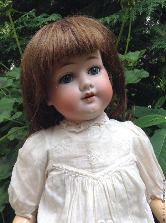 Винтажные куклы и игрушки. Ярмарка Мастеров - ручная работа. Купить Крайне редкая девочка Hermann Steiner в антикварном аутфите. Handmade.