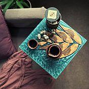 Столы ручной работы. Ярмарка Мастеров - ручная работа Прикроватный столик Ehinopso. Handmade.