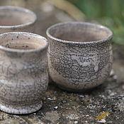 Посуда ручной работы. Ярмарка Мастеров - ручная работа Пиала раку. Раку керамика.. Handmade.