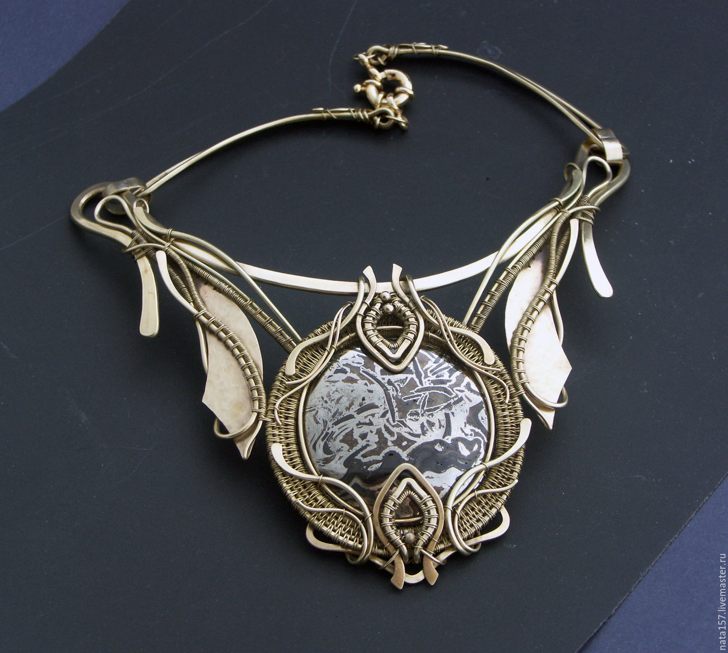 Necklace ancient greece shop online on livemaster with for Custom made jewelry stores