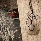 Украшения handmade. Livemaster - original item Calcite pendant. Handmade.