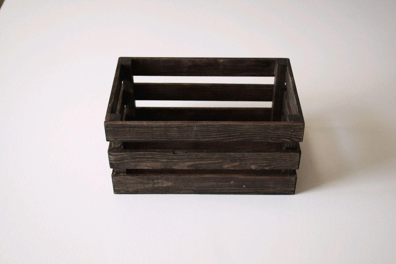 Ящик деревянный (ящик-кашпо). Цвет «Венге», 25х16см, , Иркутск, Фото №1