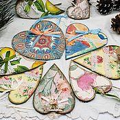 Сумки и аксессуары handmade. Livemaster - original item The interior heart, Valentine, hearts. Handmade.