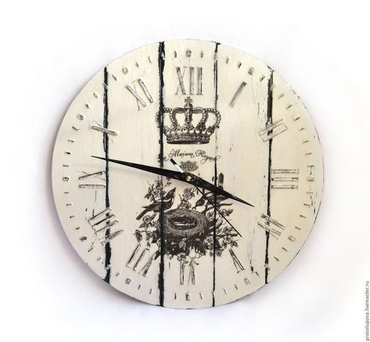 Часы для дома ручной работы. Ярмарка Мастеров - ручная работа. Купить Часы настенные в стиле French Vintage. Handmade.