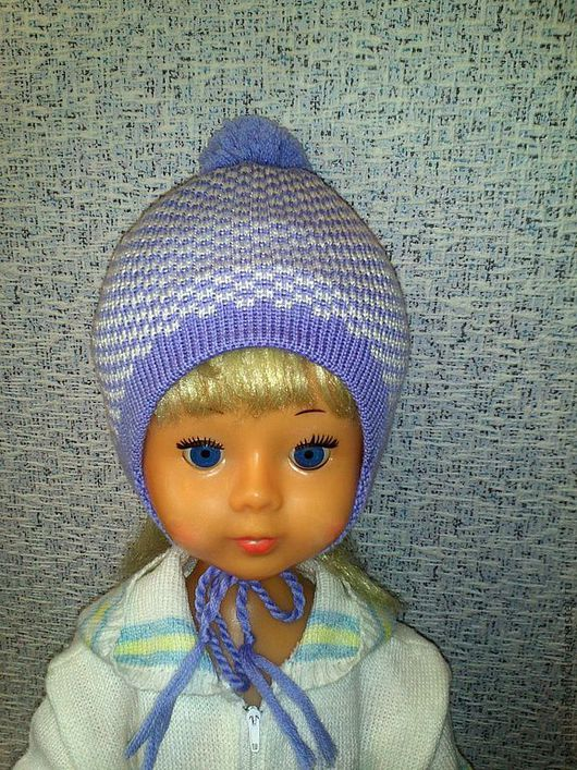 Детская шапочка для новорожденного