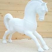 Игрушки ручной работы. Ярмарка Мастеров - ручная работа Интерьерная игрушка конь-огонь. Handmade.