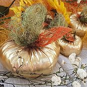 Для дома и интерьера handmade. Livemaster - original item Set of decorative pumpkins for decoration of interior areas for the decorator. Handmade.