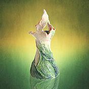 """Для дома и интерьера ручной работы. Ярмарка Мастеров - ручная работа Ваза """"Цветок жизни"""". Handmade."""