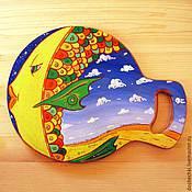 Для дома и интерьера ручной работы. Ярмарка Мастеров - ручная работа Разделочная доска Красота с умом. Handmade.