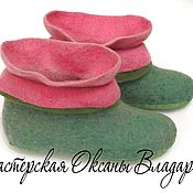 Обувь ручной работы handmade. Livemaster - original item Homemade felt boots